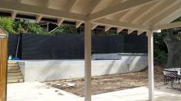 Portland Rd Project. Pool Screen Completion
