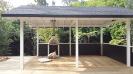 Portland Rd Project. Completion of Pergola with Vertex Decking